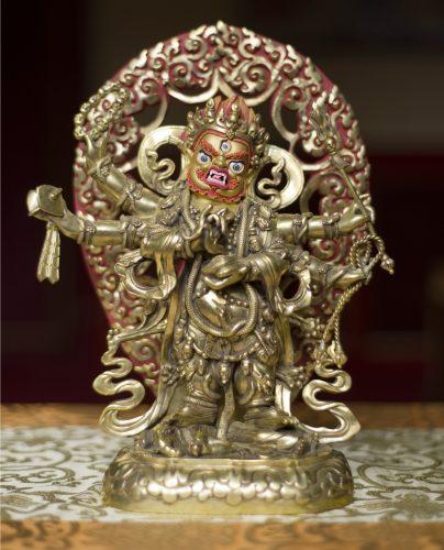 Chadrupa Mahakala statue