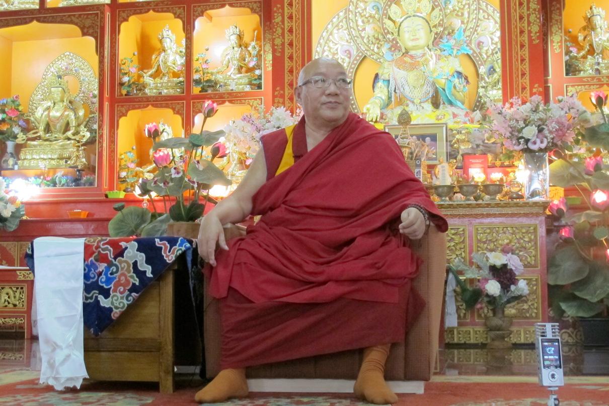 Khempo Donyo Rinpoche