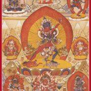 five tantra deities