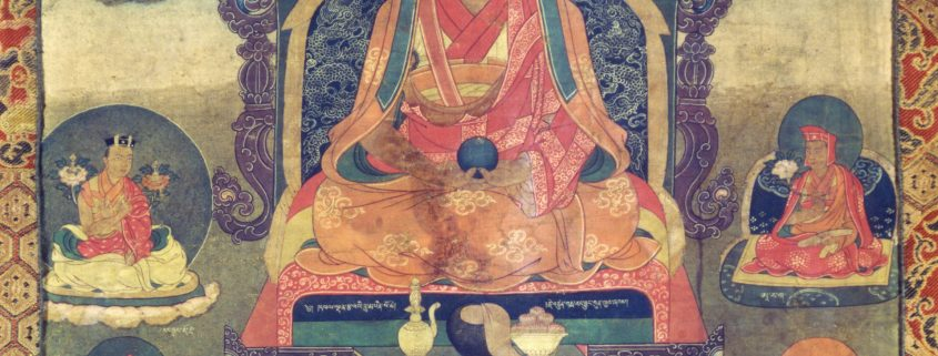 kalu rinpoche thangka